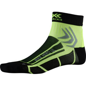 X-Socks Bike Hero UL Calcetines, opal black/phyton yellow